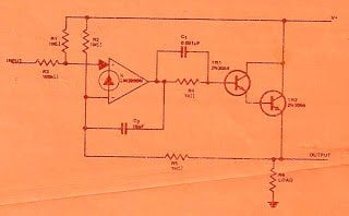 Precision Rectifier, Direct Coupled Power circuit