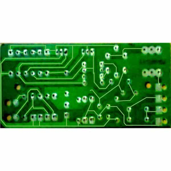 40 watt electronic ballast PCB design with tracks