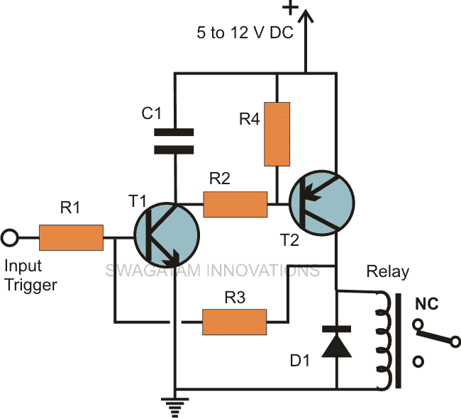 simple transistor latch circuit