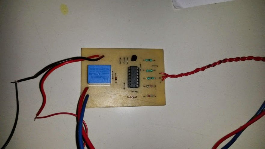 Automatic Water Level PCB component layout