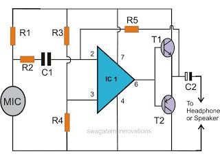Spy Bug Circuit