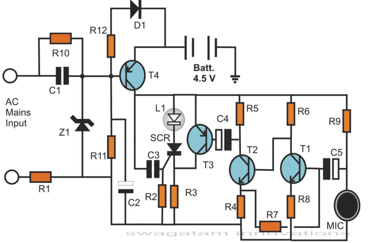 Electronic Candle Circuit