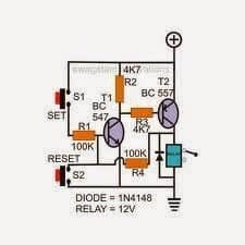 Set-Reset Latch circuit