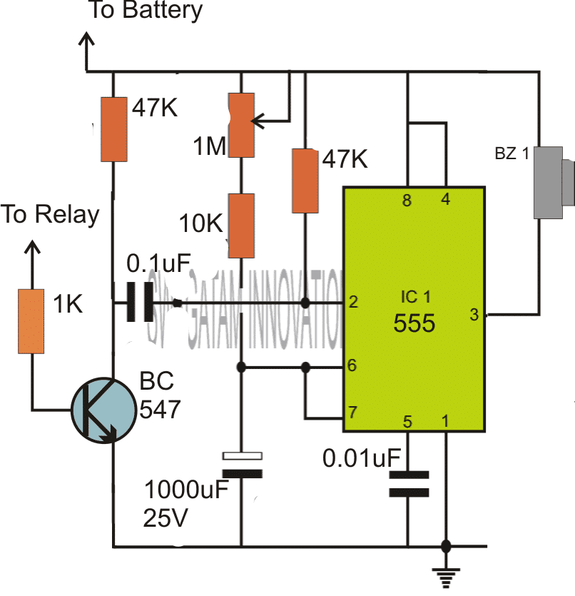 How To Make Simple Timer Circuit Using on simple piezo alarm siren circuit