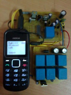 GSM Based Cell Phone Remote Control Prototype
