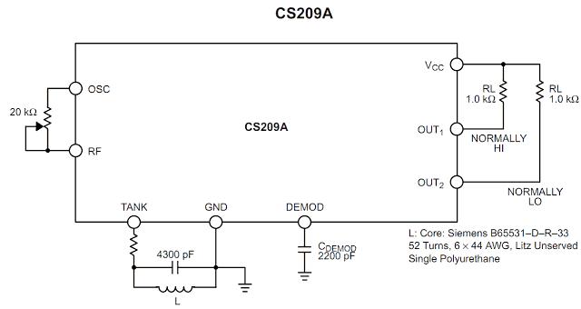 Simple Metal Detector Using IC CS209A