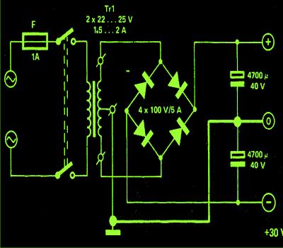 mini crescendo power supply circuit