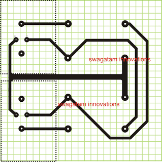 simple inverter PCB layout