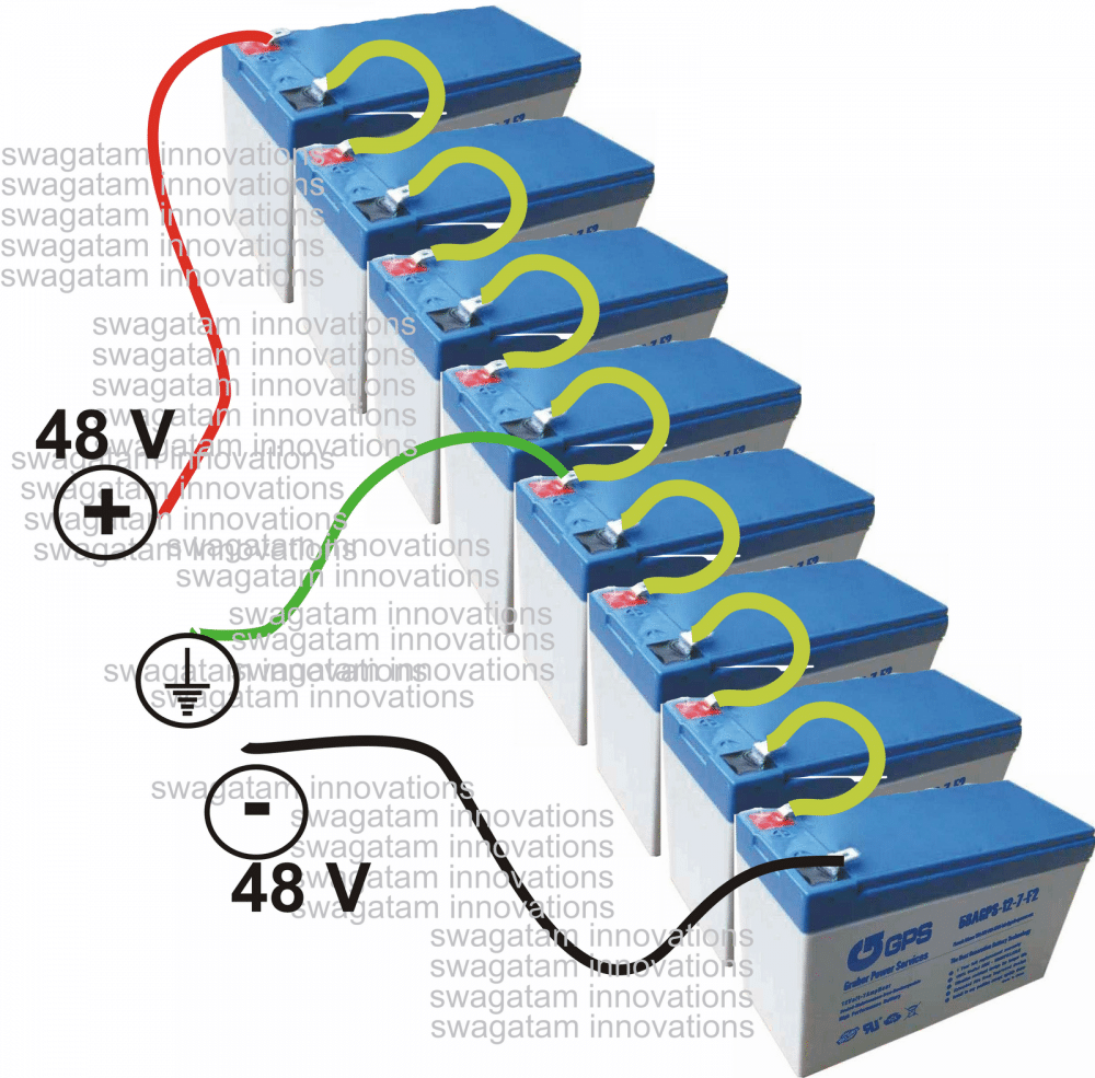 How To Build A100 Watt Pure Sine Wave Inverter Ups Circuit Diagram The Batteries Can Be 12 V 7 Ah Type Each And May Tied In Series For Getting Required Supply