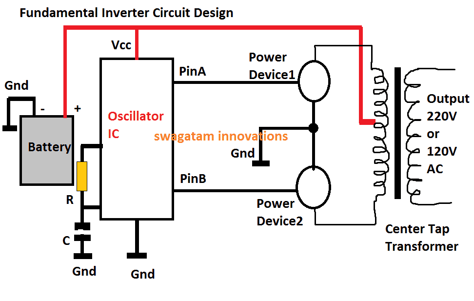 How an Inverter Functions, How to Repair Inverters - General Tips |  Homemade Circuit ProjectsHomemade Circuit Projects