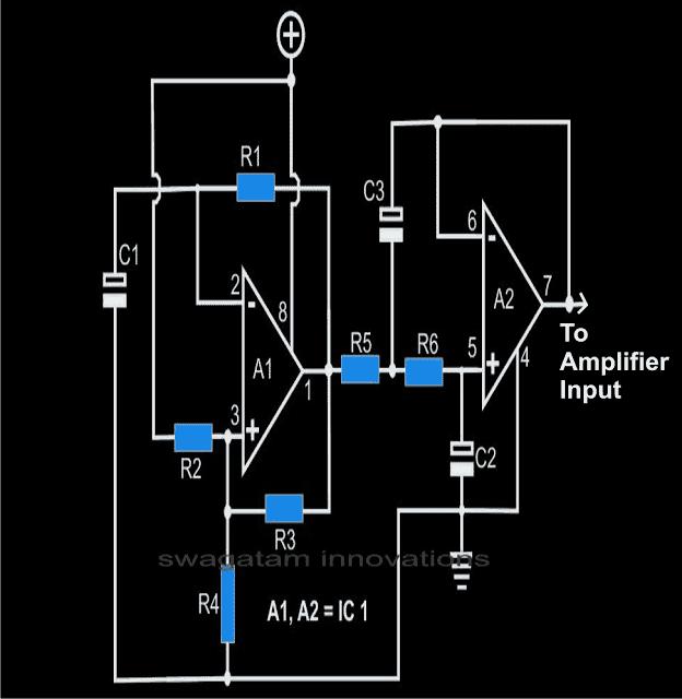 sinusoidal wave generator circuit
