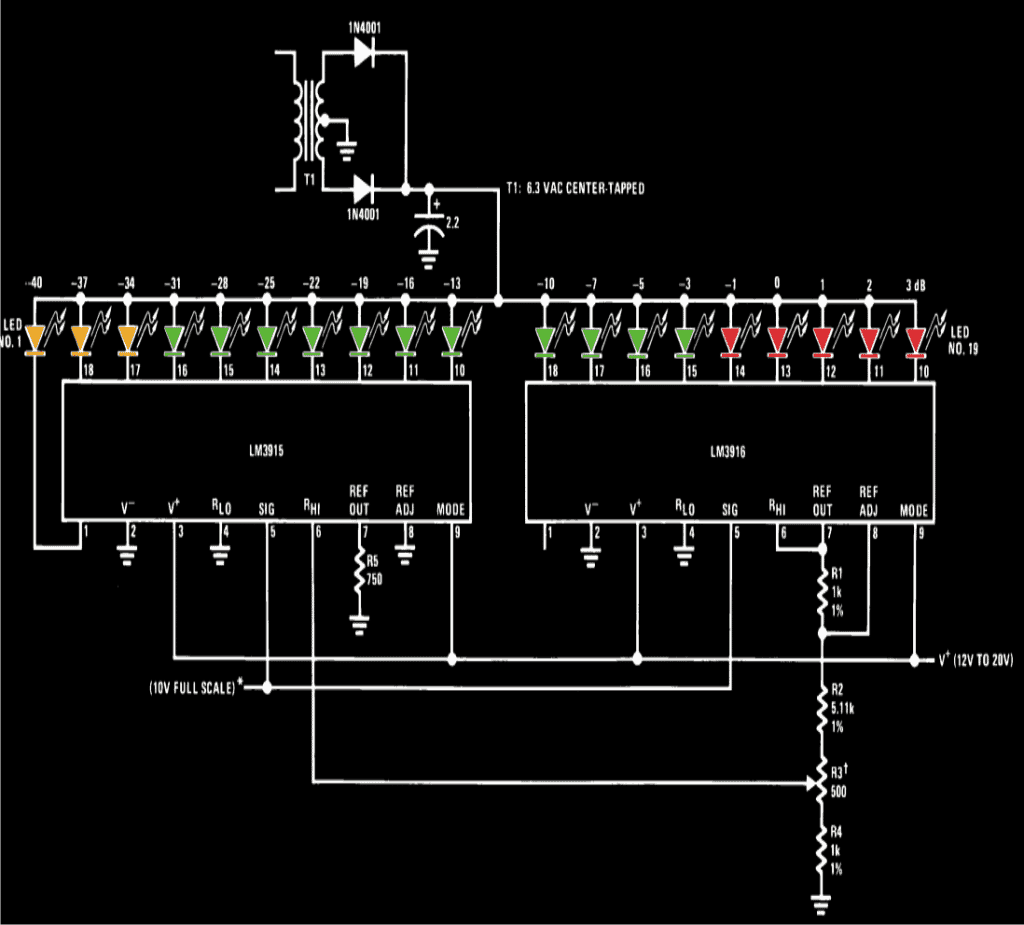 Simple Led Tester Circuit Schematic