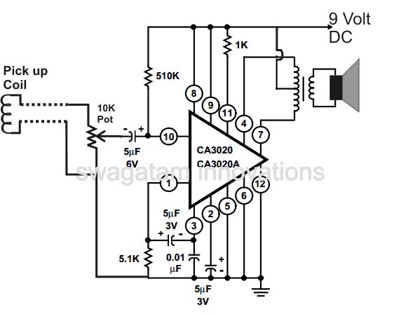 how to make a telephone amplifier circuit
