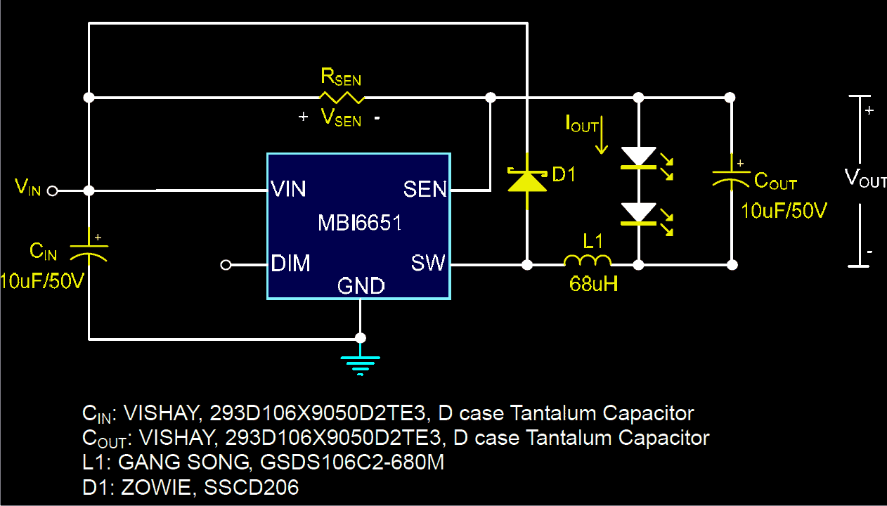 How To Make 1 A Constant Current Led Driver Circuit