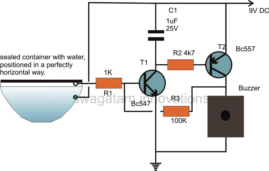 earthquake sensor circuit seismic sensor circuit