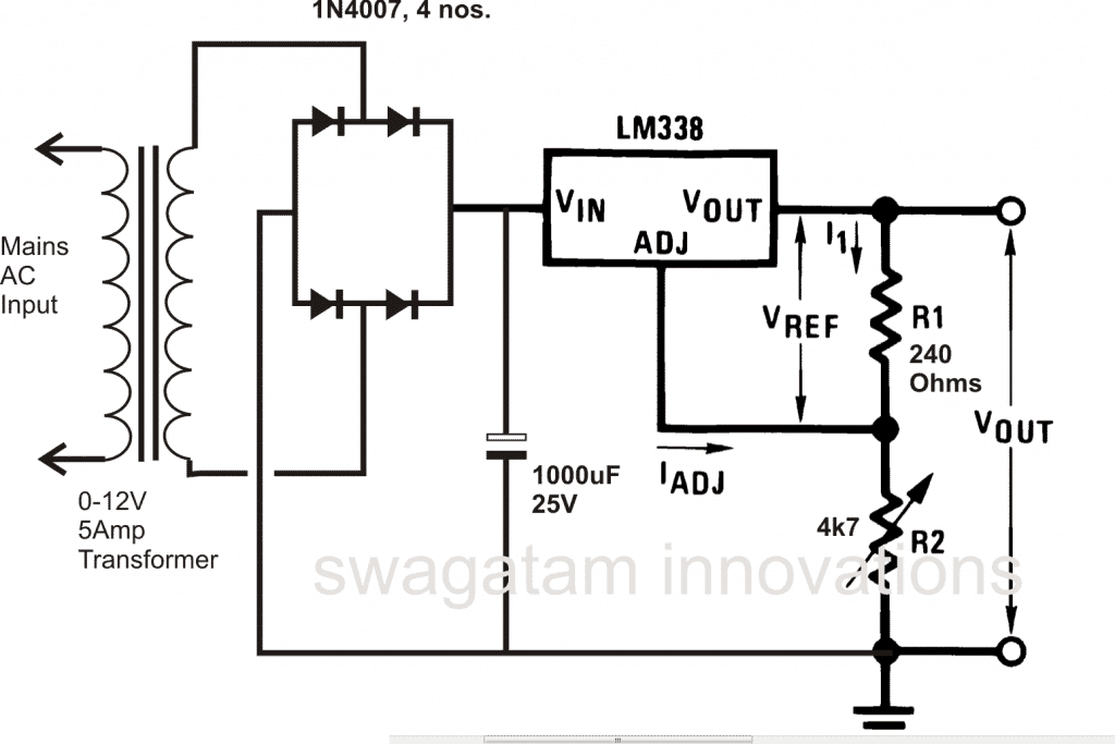 How to design a power supply circuit simplest to the most complex for obtaining fixed voltage levels 78xx series ics may be employed with the above explained power supply circuits the 78xx ics are comprehensively pooptronica