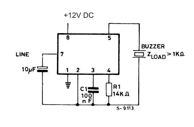 2 tone ringtone generator circuit