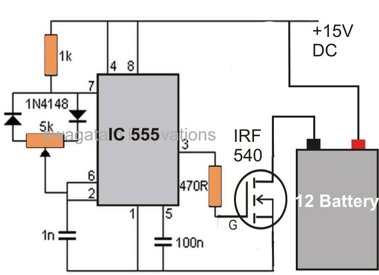 diy battery desulfator circuit