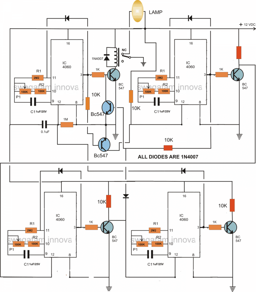 555 Astable With Low Duty Cycle Circuit Diagram Tradeoficcom