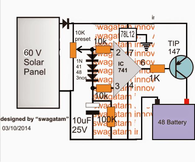 48v Solar Charge Controller Circuit Diagram - Somurich com