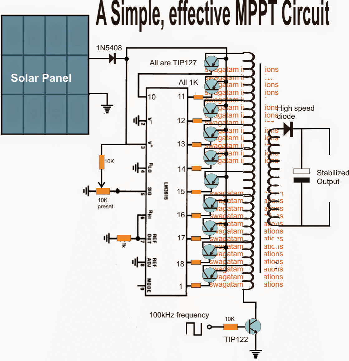 Homemade Solar Mppt Circuit Poor Man39s Maximum Power Point Tracker Simple Cell Battery Charger Diagram Diagrams Flyback Design