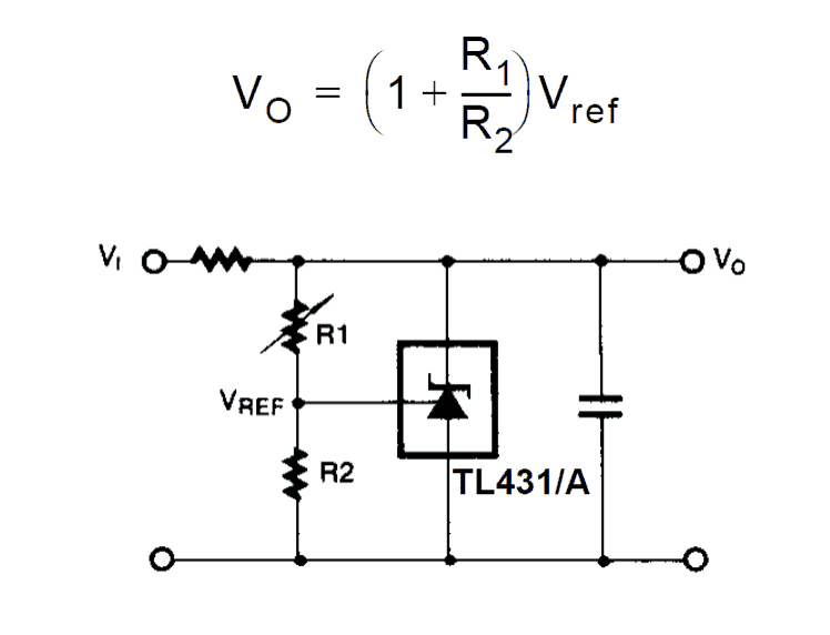 How Shunt Regulator Tl431 Works Datasheet Application