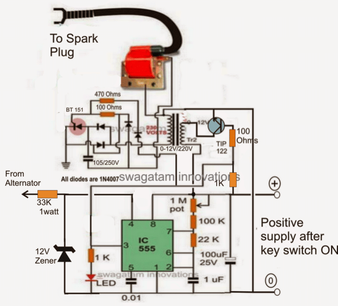 Enhancedcdi on Dc Cdi Ignition Wiring Diagram