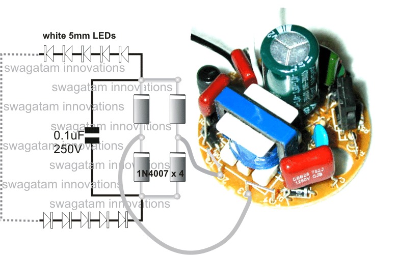 Led light diagram 12v