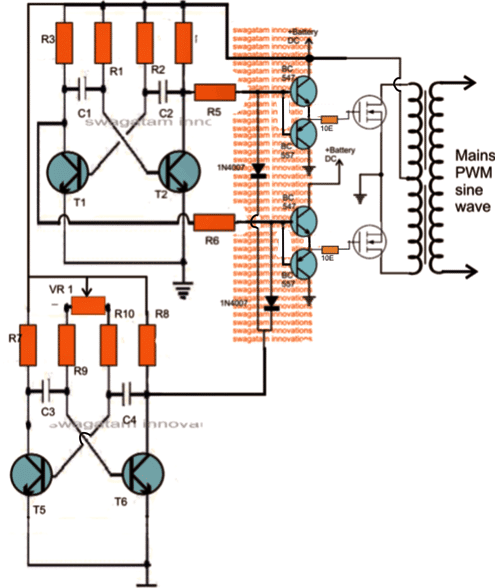 How to Modify a Square Wave Inverter into a Sine Wave Inverter