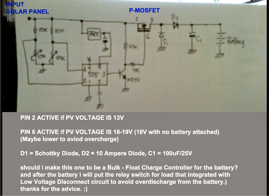 simple solar mppt circuit homemade circuit projects