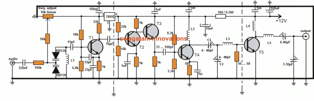 long range transmitter 2 to 5 km range homemade circuit projects rh homemade circuits com 10 km fm transmitter schematic 10km fm transmitter. diagram