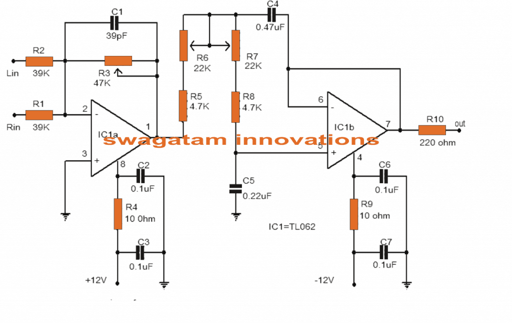 Active Subwoofer Filter Circuit Diagram on guitar wiring diagrams