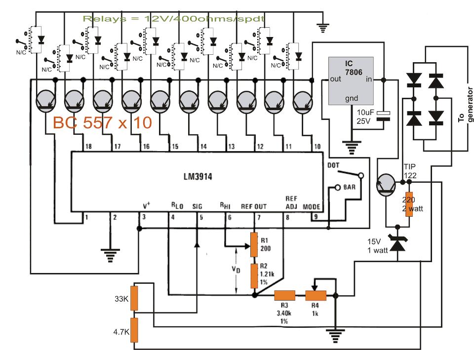 bike magneto generator 220v converter