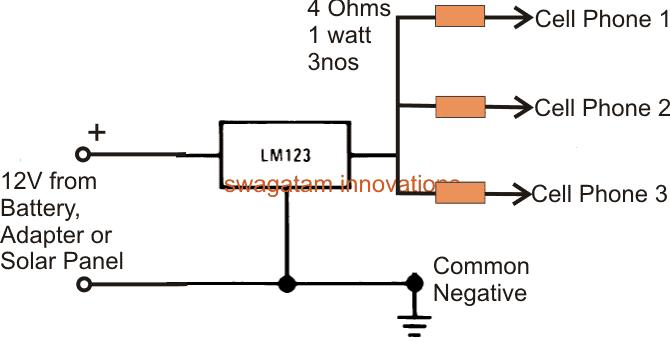 5v 3 Amp Fixed Voltage Regulator Circuit Homemade