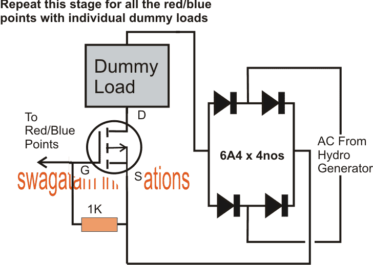 electronic load controller  elc  circuit