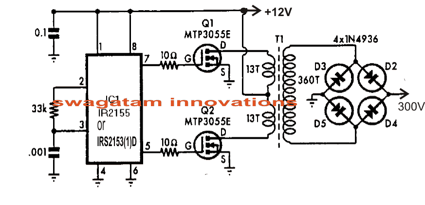 Half-Bridge Mosfet Driver IC IRS2153(1)D Datasheet | Homemade