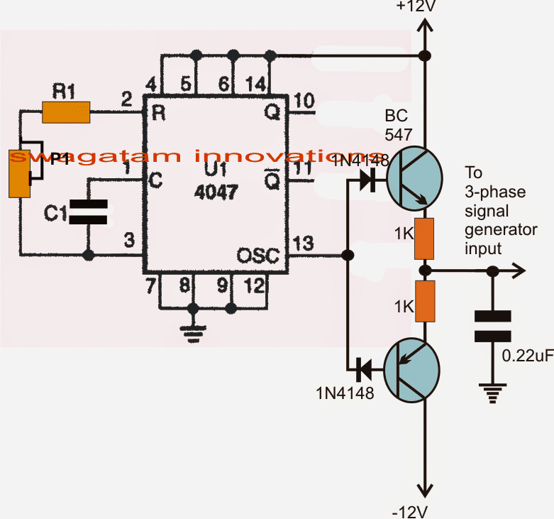 homemade phase converter wiring diagram simple 3 phase inverter circuit homemade circuit projects  simple 3 phase inverter circuit
