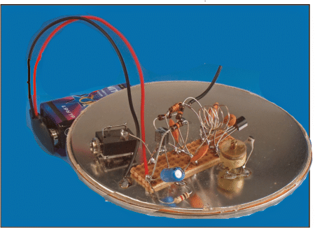 Simple FM Radio Prototype using a single transistor