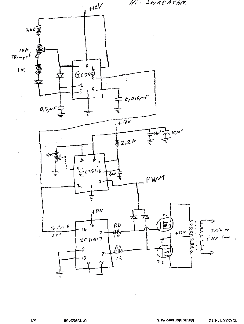 7 Modified Sine Wave Inverter Circuits Explored 100w To 3kva