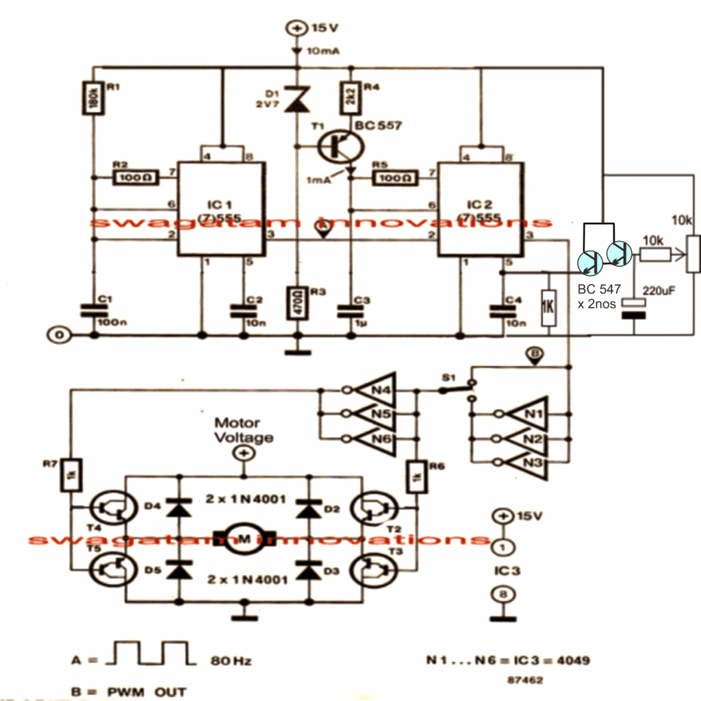 180v dc motor controller circuit diagram circuit and for Dc motor control circuit diagram