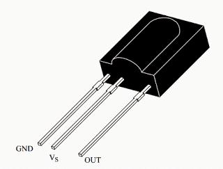 TSOP1738 Infrared Sensor IC Datasheet, Pinout, Working ...