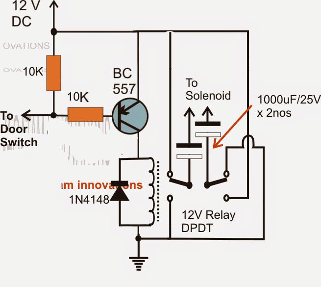 Car Door Close Optimizer Relay Circuit