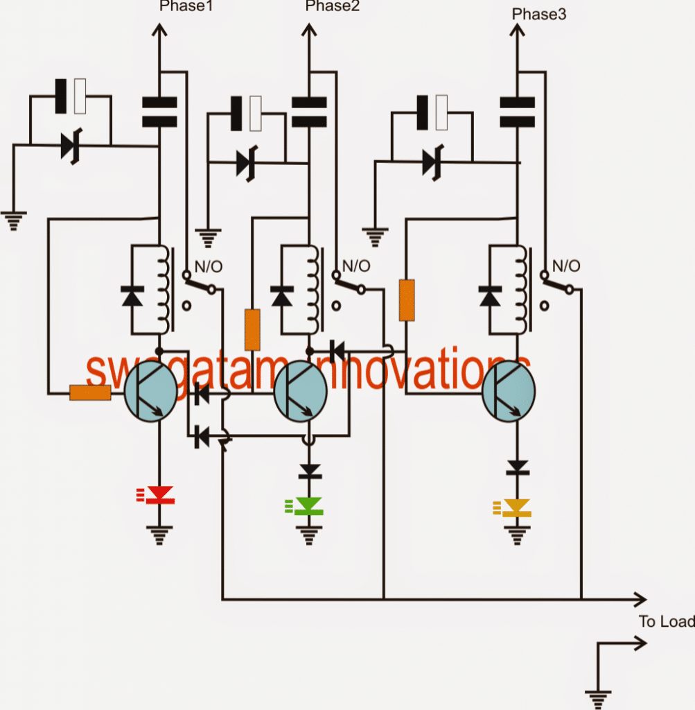 Single Phase AC from Three Phase AC