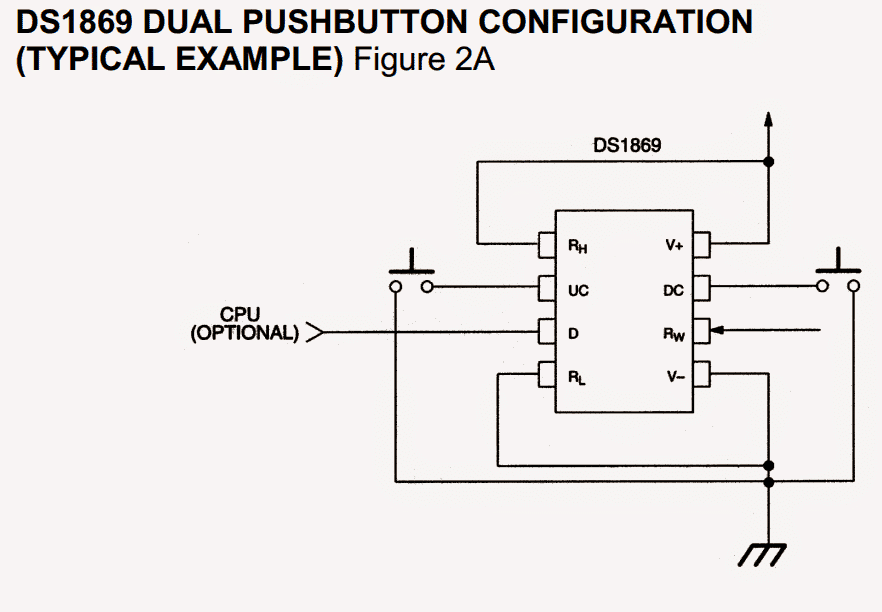 2 digital potentiometer circuits explained