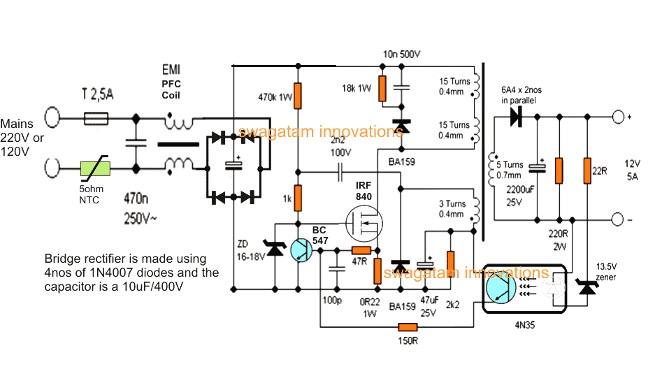 V B B  Btransformerless Bbattery Bcharger Bcircuit on boost converter circuit diagram