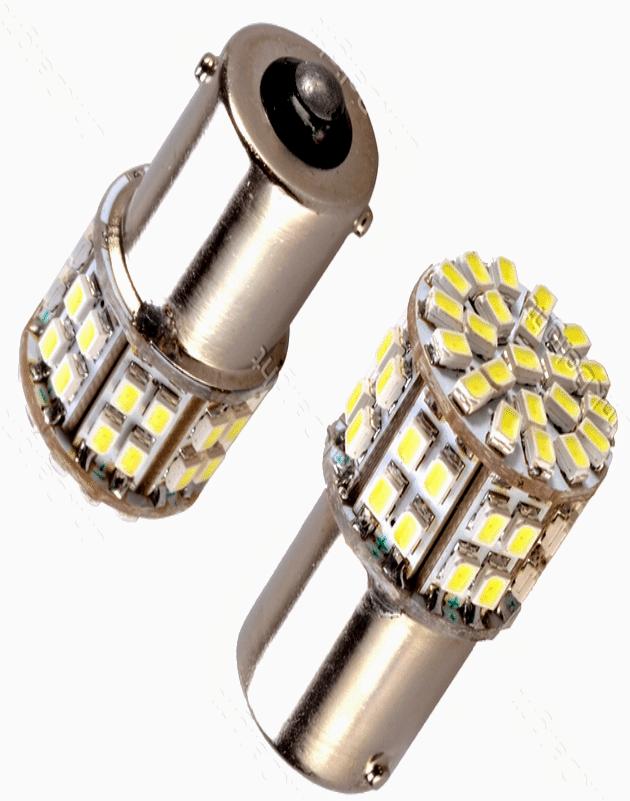 Making car LED bulb circuit using SMD LEDs