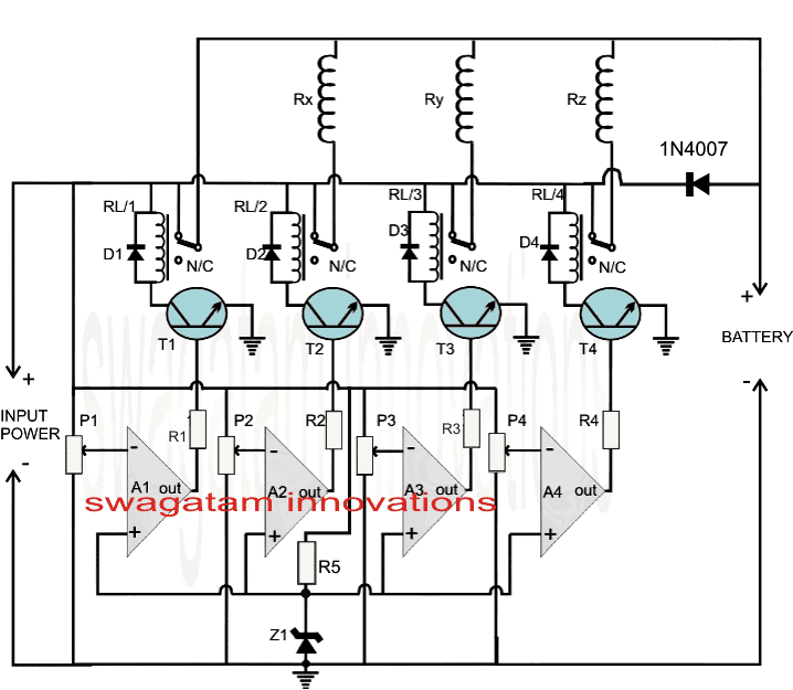 Make This Fast Battery Charger Circuit