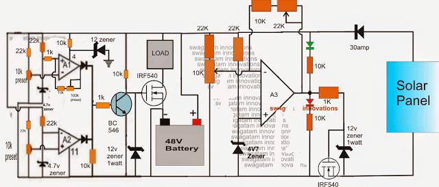 48v battery bank wiring diagram schematic  chevy mylink