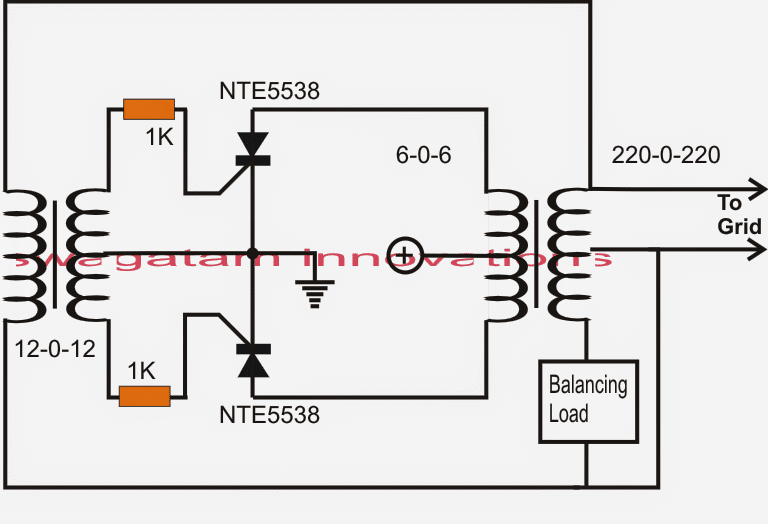 Solar Inverter Circuit For 15 Ton Ac in addition Voltage Regulator Circuit furthermore Scr Phase Control Dimmer together with 400W Stereo Marshall Leach  lifier 10513 as well Ac Generator Design Differences. on dc voltage stabilizer diagram