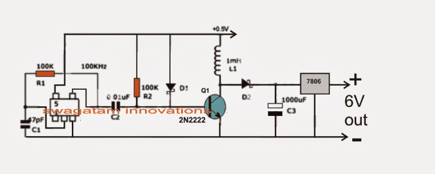 0.6V to 6V/12V Boost Converter Circuit | Homemade Circuit ... Circuit Diagram V To V on car circuit diagram, solar circuit diagram, 220v circuit diagram, dc circuit diagram, led circuit diagram, power circuit diagram, ground circuit diagram, usb circuit diagram, inverter circuit diagram, fan circuit diagram, diesel circuit diagram, 120v circuit diagram, 277v circuit diagram, green circuit diagram, 240v circuit diagram, ac circuit diagram, halogen circuit diagram, charger circuit diagram, voltage circuit diagram,